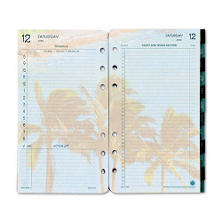 Day-Timer Coastlines Looseleaf Refill Pages