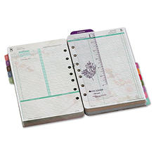 Day-Timer Planner Refill - Garden Path- 2-Pg./Day
