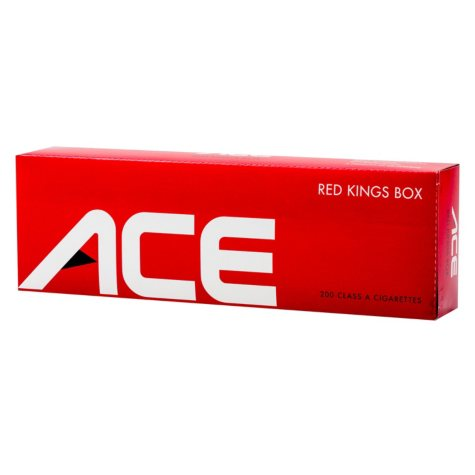 Ace Red King Box 1 Carton