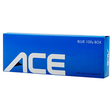 Ace Blue 100's Box 1 Carton