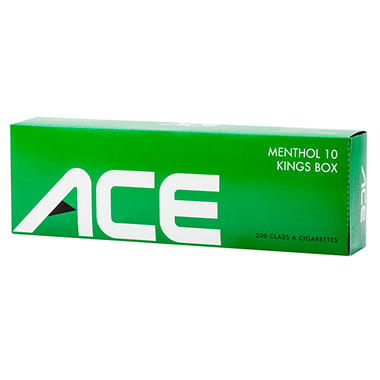 Ace Menthol 10 Kings Box (20 ct., 10 pk.)