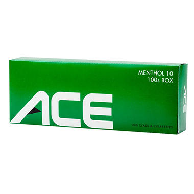 Ace Green Menthol 100's Box 1 Carton