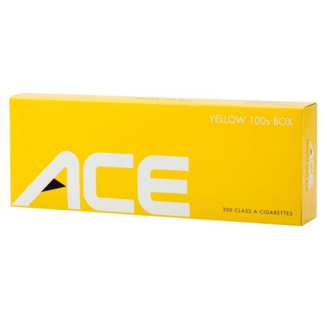 Ace Yellow 100's Box 1 Carton