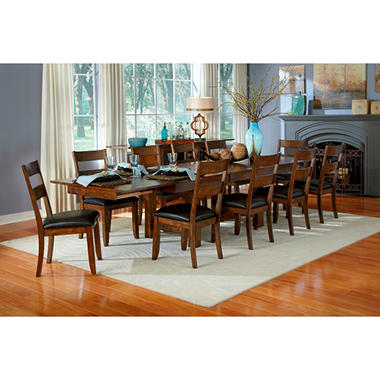 Emma Solid Wood Dining Table And Chairs Set (Assorted Sizes)   Samu0027s Club