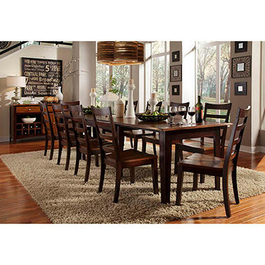 Layla Solid Wood Dining Set Assorted Sizes