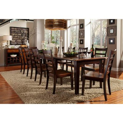 Layla Solid Wood Dining Set Assorted Sizes Sams Club