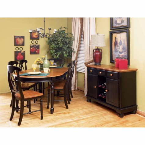 Noah Solid Wood Dining Set (Assorted Sizes)