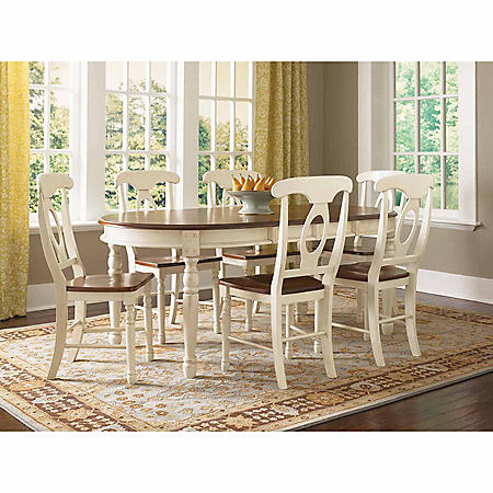 Mia Solid Wood Dining Set (Assorted Sizes)