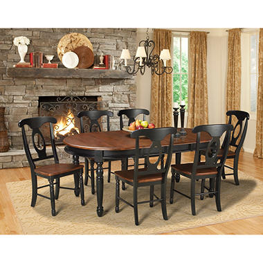 Jacob Solid Wood Dining Set (Assorted Sizes) - Sam\'s Club