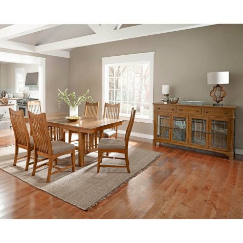 Liam Solid Wood Dining Set (Assorted Sizes)