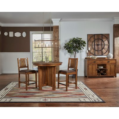 Juliana 3-Piece Counter Height Dining Set  sc 1 st  Samu0027s Club : kitchen table counter height sets - pezcame.com