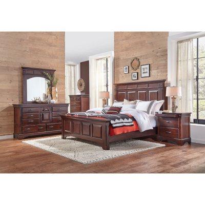 $3699.00 Thompson 6 Piece King Bedroom Furniture Set - dealepic