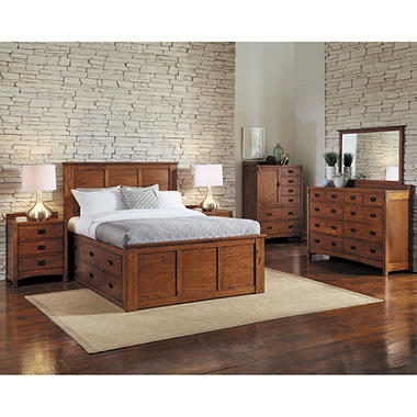 Cooper 3-Piece Bedroom Furniture Set (Assorted Sizes) - Sam\'s Club