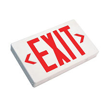 NICOR LED Exit Sign Remote Emergency