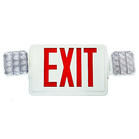 NICOR Emergency Exit Sign with Emergency Light