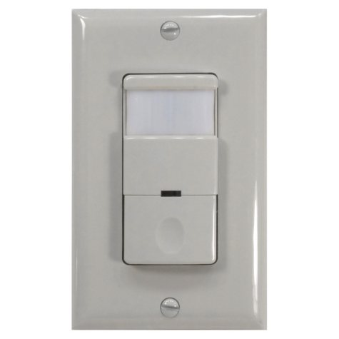 NICOR Occupancy/Vacancy Passive Infrared Motion Sensor Wall Switch