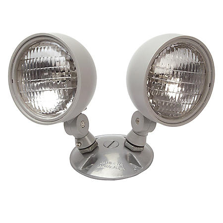 NICOR Dual Emergency Remote Lamp Head Fixture