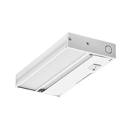 NICOR Slim White Dimmable LED Under-Cabinet Lighting Fixture