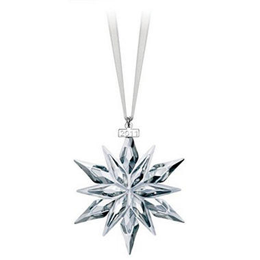 Swarovski 2011 Annual Crystal Christmas Ornament - Swarovski 2011 Annual Crystal Christmas Ornament - Sam's Club