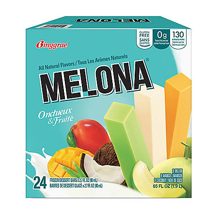 Binggrae Melona Frozen Dairy Dessert Bars Variety Pack (24 pk.)