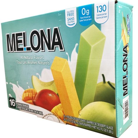 Melona Ice Cream Bar Variety Pack (16 ct.)