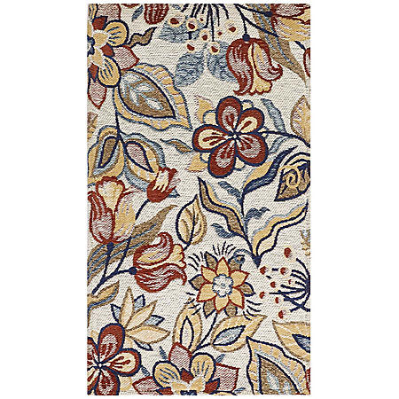CLOUDWALK ACCENT RUG LE JARDIN