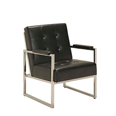 Edgewater Reception Chair, Black