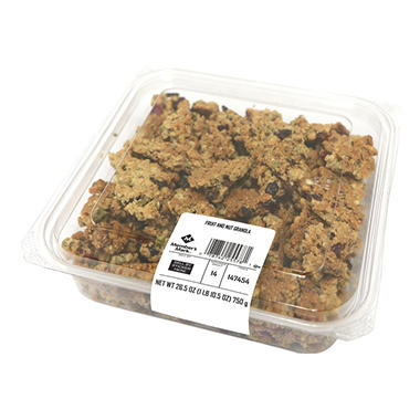 Member S Mark Fruit And Nut Granola Sam S Club