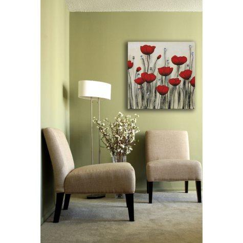 Garden Poppies Canvas