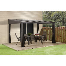 Sojag Pompano 10x12 Wall Mounted Gazebo