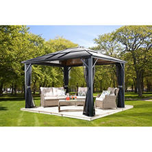 SOJAG Meridiens Hardtop Gazebo, Choice of Size