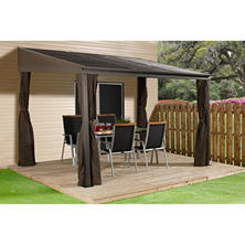 SOJAG Portland Wall Mounted Gazebo, Choice of Size