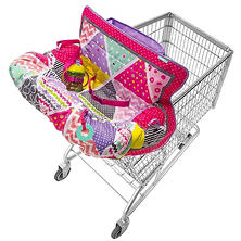 Infantino Compact Shopping Cart Cover, Pink
