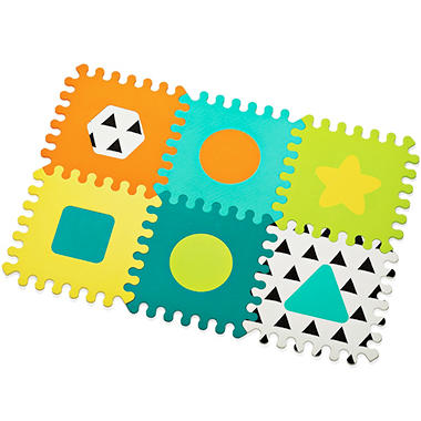 alphabet mat foam piece kids ip multi puzzle floor color for