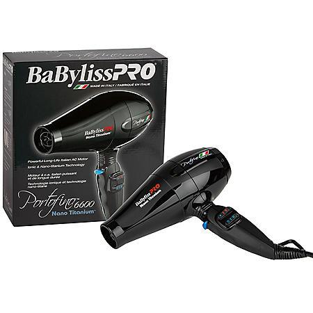 BaByliss Pro Portofino Ionic Nano Titanium Hairdryer