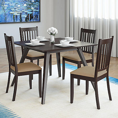 Anthony Dining Table with 4 Chairs