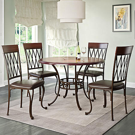 Jericho Dining Table And Chairs 5 Piece Dining Set Sam