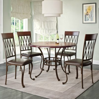 Jericho Dining Table And Chairs, 5 Piece Dining Set