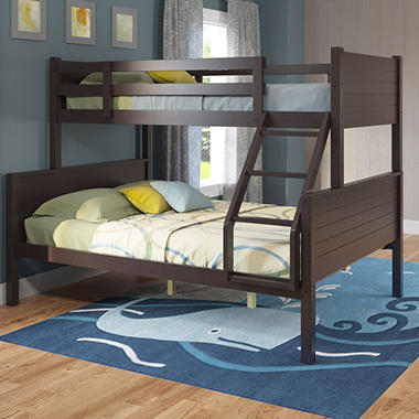 Belmont Dark Cappuccino Bunk Bed (Choose Size)