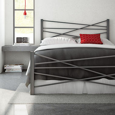 Amisco Crosston Bed (Assorted Sizes and Colors)