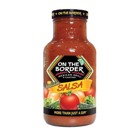 On The Border Medium Salsa - 47 oz.