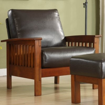 Calantha Faux Leather Chair