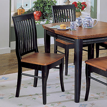 Franklin Black & Cherry Side Chairs - 2 pk.