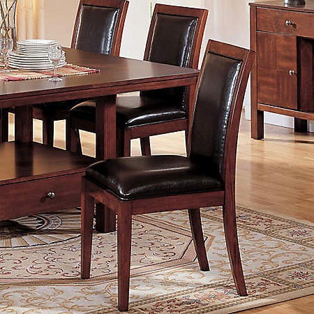 Taylor Faux Leather Side Chair - 2 pk.