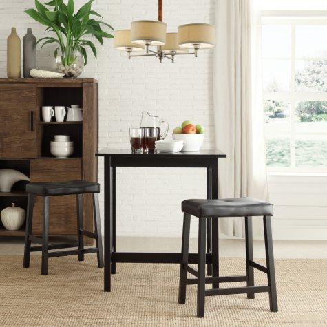 Alta Bistro Table, 2 Chairs Set  (Choose a Color)