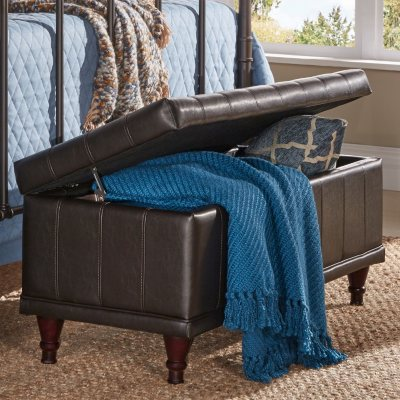 Burnham Lift Up Storage Bench