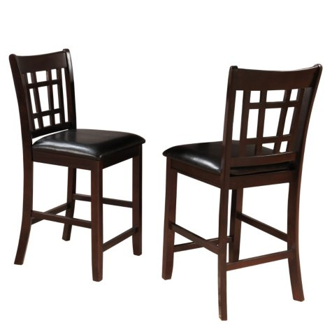 "Uptown 24"" Counter Height Chairs (2 pk)"