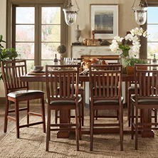 Cornelia Counter Height 9-Piece Dining Set