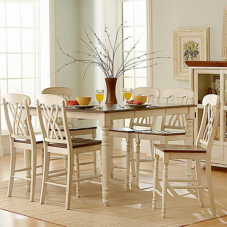Fletcher Counter Height Dining Table (Choose a Color)