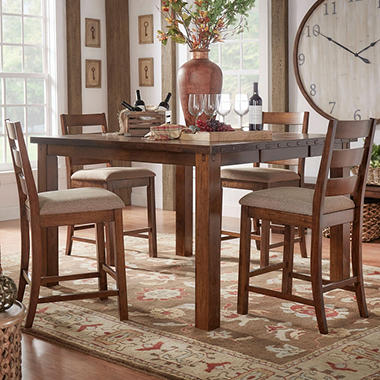 High Quality Malden 7 Piece Counter Height Dining Set